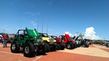 Todo un éxito la décima edición del Reencuentro Nacional del Jeep