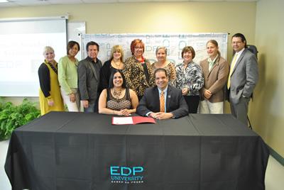 EDP San Juan School of Design firma acuerdo con el Conservatorio de Música de Pueto Rico
