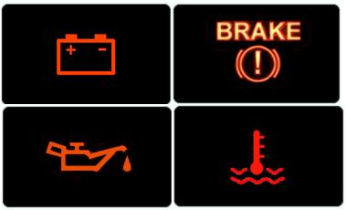 ¿Sabes lo que significan las luces del tablero de tu auto?