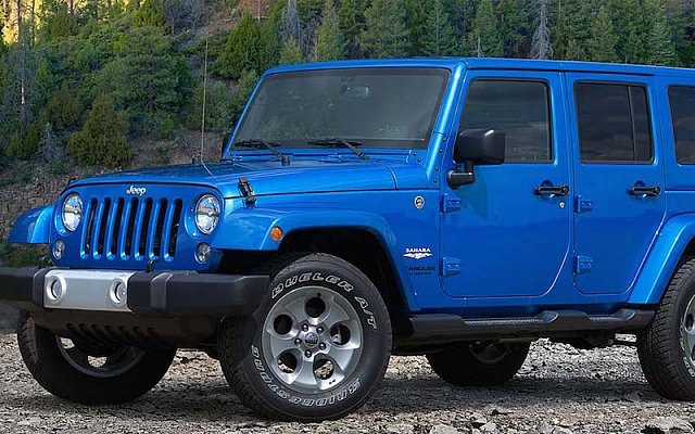 Wrangler Unlimited 2015