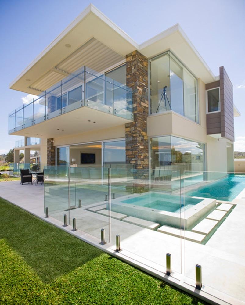 Soluciones transparentes para su terraza noticia el - Cristaleras para terrazas ...