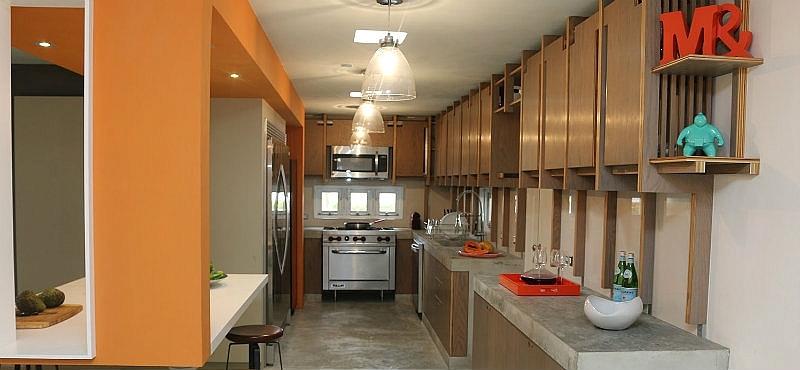 La cocina de hoy una versi n chic industrial noticia for Cocinas de cemento y ceramica
