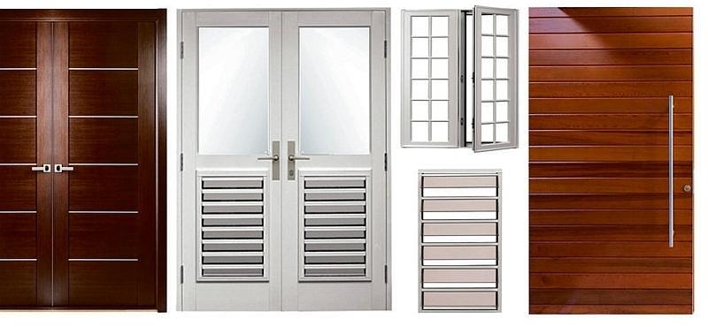 Puertas para ba o exterior for Fabrica de puertas de madera