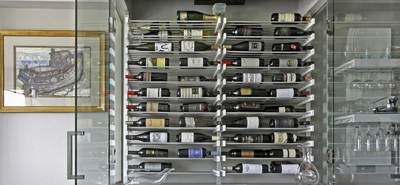 Arkitektura presenta modernos racks para vinos noticia - Cavas de vino para casa ...