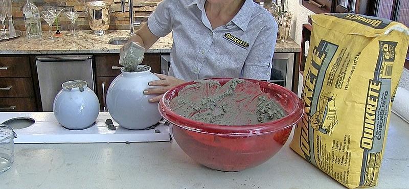 ideas concretas c mo hacer esferas diferentes y duradera On como hacer esferas de cemento