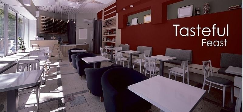 El color como agente de cambio caso 1 restaurantes for Fachadas de restaurantes modernos