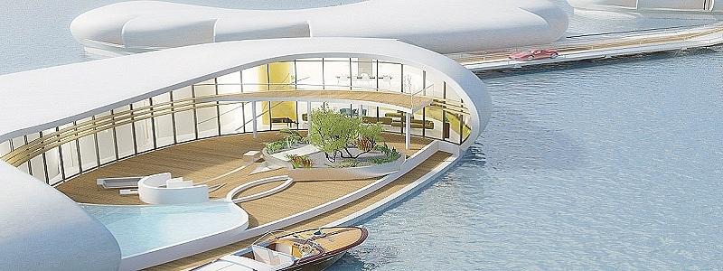 imagen de la casa de new living on water