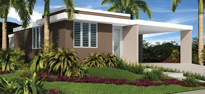 Palacios del mar casas humacao puerto rico proyectos for Fachadas de casas modernas de una planta en puerto rico