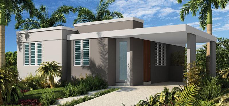 Palacios del mar casas humacao puerto rico proyectos for Nuevas fachadas minimalistas