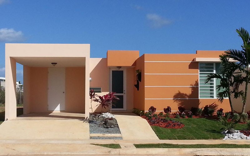 Puertas del combate casas cabo rojo puerto rico for Proyectos casas nueva