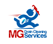 MG Drain Cleaning Services Logo