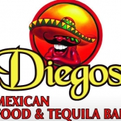 Logo de Diegos Mexican Food  Tequila Bar