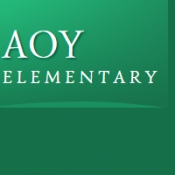 Aoy Elementary School Logo
