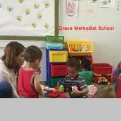 Logo de Grace Methodist School