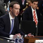 Mark Zuckerberg. El fundador de Facebook, rinde cuentas ante el Congreso