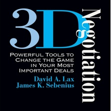 3-D Negotiation cover image