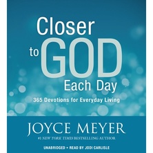 Closer to God Each Day cover image