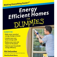 Energy Efficient Homes for Dummies cover image