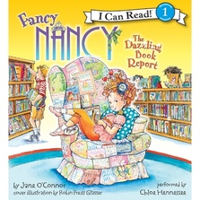 Fancy Nancy: The Dazzling Book Report cover image