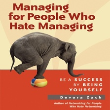Managing for People Who Hate Managing cover image