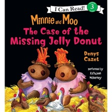 Minnie and Moo: The Case of the Missing Jelly Donut cover image