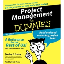 Project Management For Dummies cover image