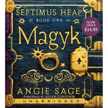 Septimus Heap, Book One: Magyk cover image