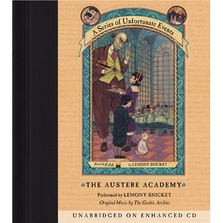 Series of Unfortunate Events #5: The Austere Academy cover image