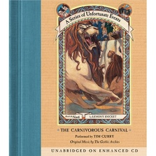 Series of Unfortunate Events #9: The Carnivorous Carnival cover image