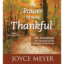 The Power of Being Thankful cover image