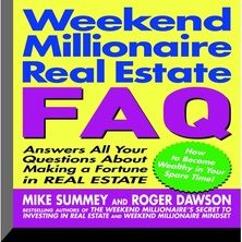Weekend Millionaire's Real Estate FAQ cover image