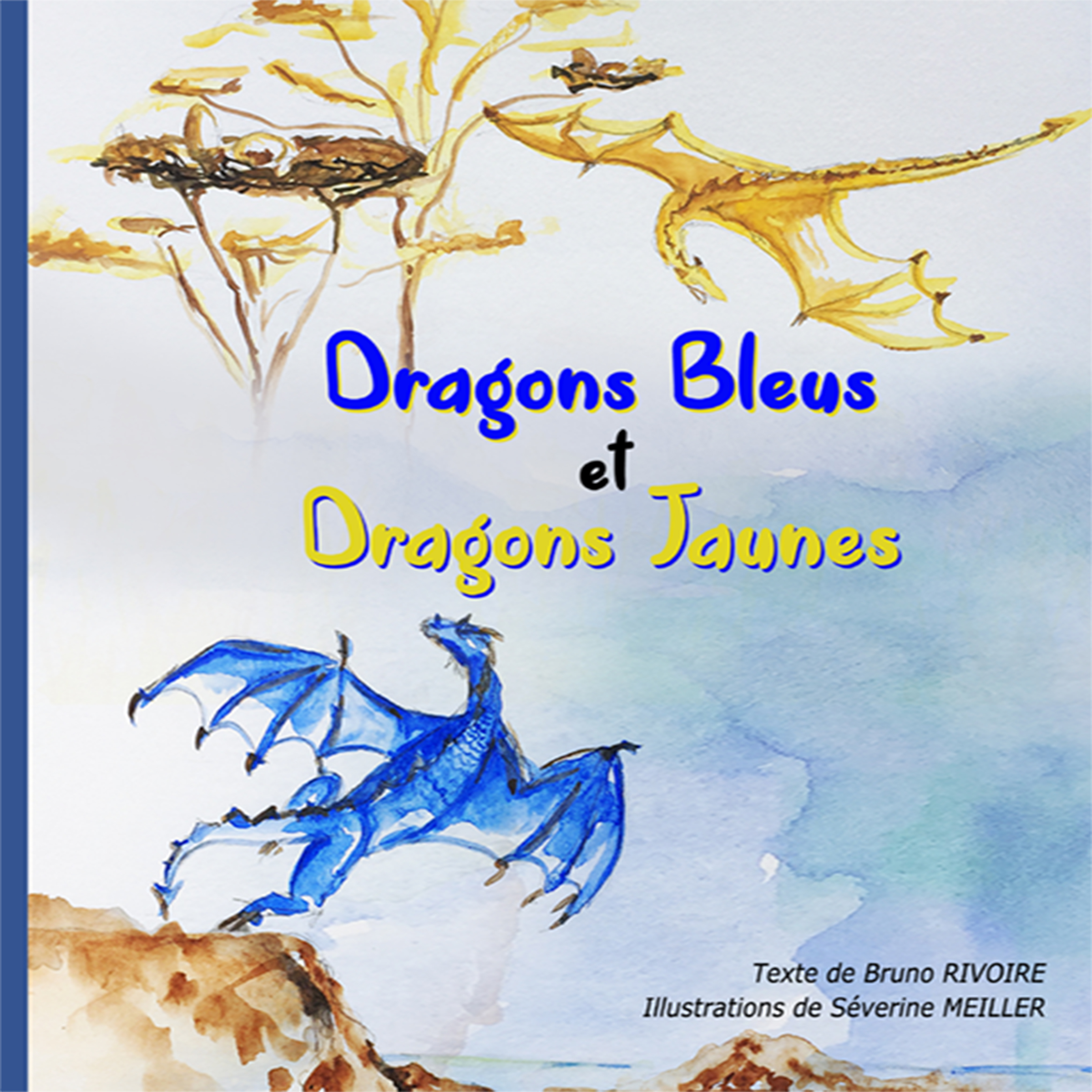 Dragons Bleus et Dragons Jaunes cover image