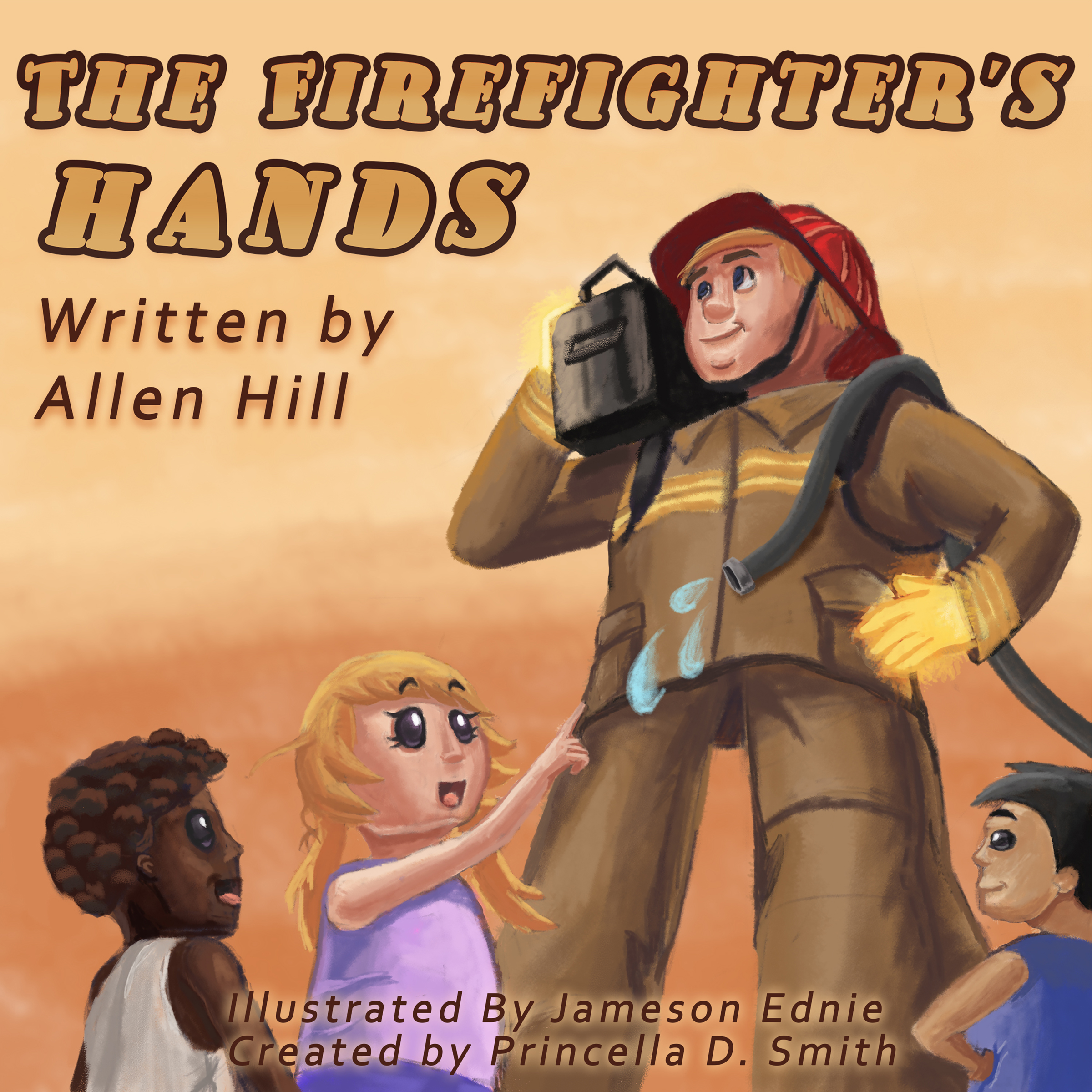 The Firefighter's Hands