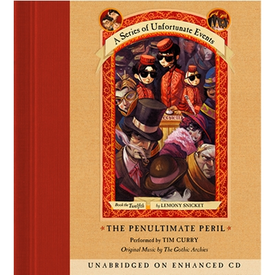 A Series of Unfortunate Events #12: The Penultimate Peril cover image