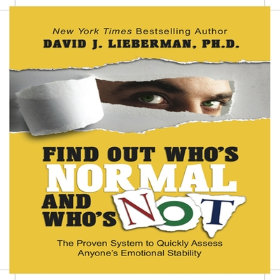 Find Out Who's Normal and Who's Not: cover image