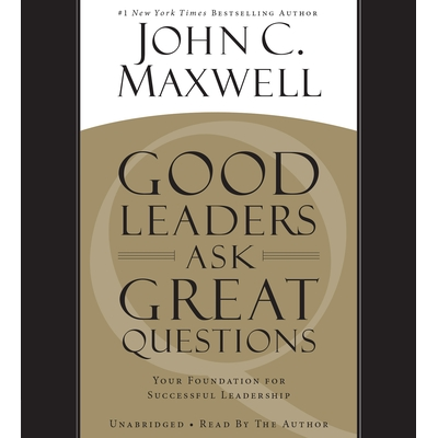 Good Leaders Ask Great Questions cover image