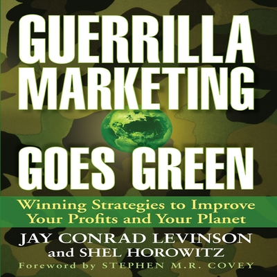 Guerrilla Marketing Goes Green cover image