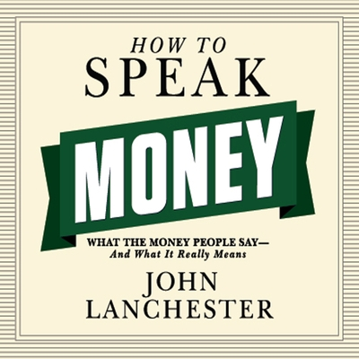 How to Speak Money cover image