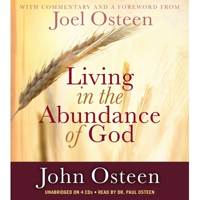 Living in the Abundance of God cover image