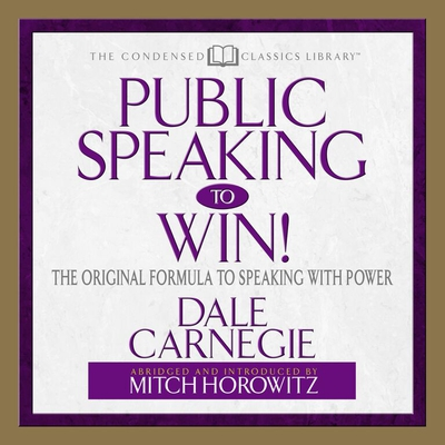 Public Speaking to Win cover image