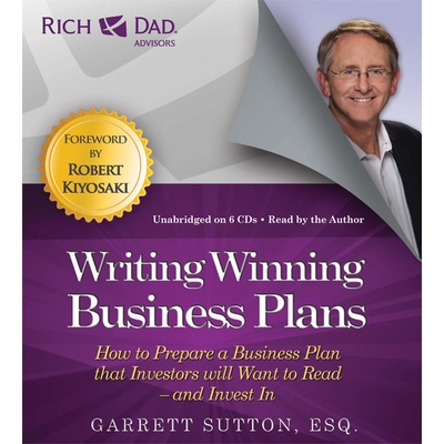 Rich Dad Advisors: Writing Winning Business Plans cover image