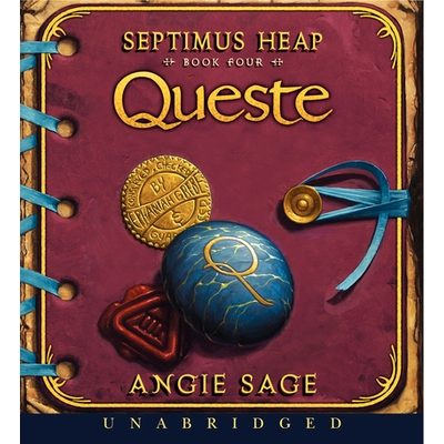Septimus Heap, Book Four: Queste cover image