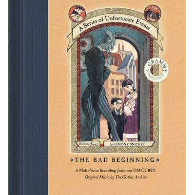 Series of Unfortunate Events #1 Multi-Voice, A: The Bad Beginning cover image