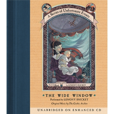 Series of Unfortunate Events #3: The Wide Window cover image