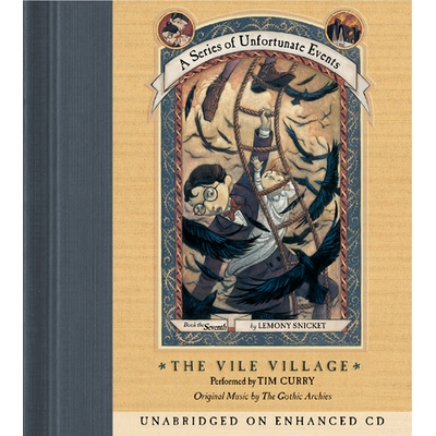 Series of Unfortunate Events #7: The Vile Village cover image