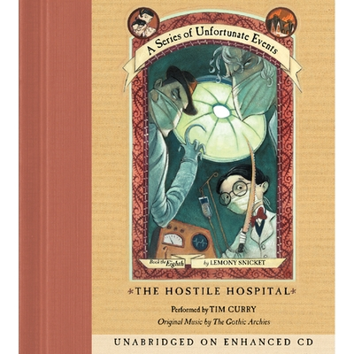 Series of Unfortunate Events #8: The Hostile Hospital cover image