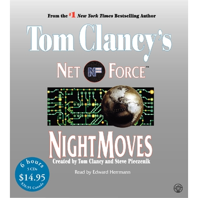 Tom Clancy's Net Force #3: Night Moves cover image