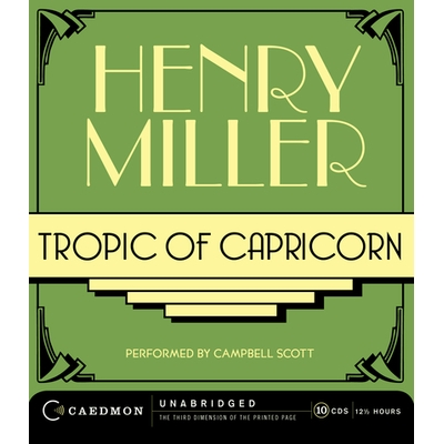 Tropic of Capricorn cover image