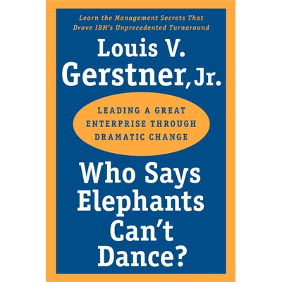 Who Says Elephants Can't Dance? cover image