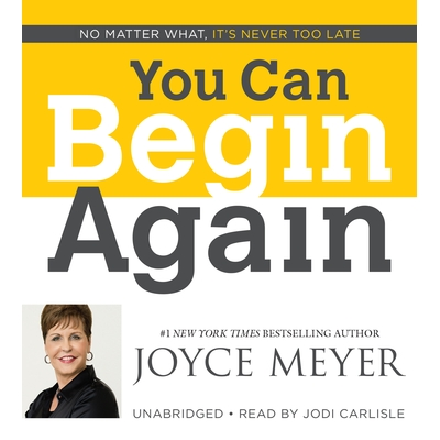 You Can Begin Again cover image
